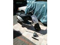 Piaggio zip rs 50cc liquid cooled rare bike. 2010 plate 2 stroke