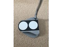 Odyssey White Hot RX 2-Ball V-Line Putter Right Handed Golf Club