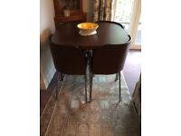 Ex IKEA dining table and 4 chairs. Good condition.