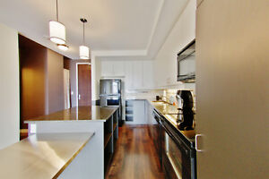 Rare Bauer Lofts Suite featuring 1 bedroom + den + 2 bathrooms