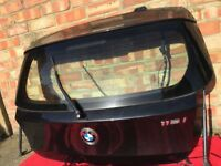 bmw 1 series E87 E81 Boot Lid, Rear Tailgate, Hatch Back In Black Sapphire