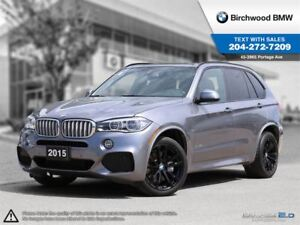 2015 BMW X5 Xdrive50i 3rd Row Seating! 7 Seater!
