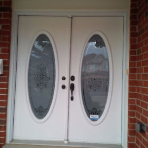 Double Steel Exterior Door