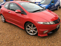 2007 '57' Honda Civic Type R GT. Hot Hatch. Petrol. Manual. Sport. Px Swap.