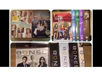 Box sets - Bones, One Tree Hill and Brothers and Sisters
