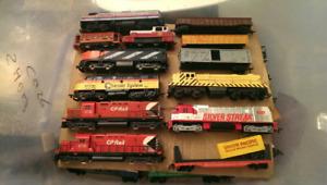 Massive H.O scale train collection
