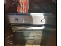 Lamona electric built in oven with ceramic hob and fan xtractor almost new