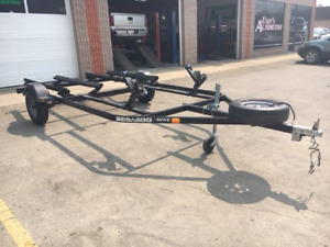 2013 Seadoo watercraft double trailer with new tires!(SOLD)