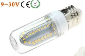 3W DC 12V 24V E27 LED light bulb cottage RV boat
