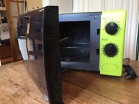 Lime Green matching microwave, kettle and toaster