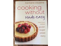 Cook books - Free From/Vegan/Healthy Eating (x3)