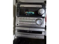 Hi Fi, Music Player, 30 watt RMS , 3 CD Changer, MP3 Aux socket