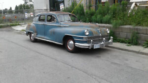 Genuine Survivor 1947 Chrysler Windsor