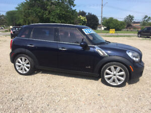 2011 MINI Countryman S ALL4 LOADED **REDUCED**