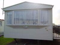 6 birth 3 bedroom caravan on golden gate towyn