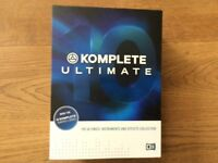Native Instruments Komplete Ultimate 10 (music production software)