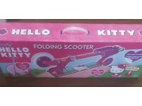 Brand new hello kitty scooter