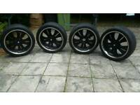 22 Inch BMW X5 Wheels and 285 35 22 tyres