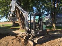 OBC - Mini Excavations / Bobcat work - free quotes