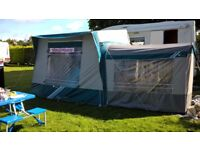 Motorhome Hi top awning with bedroom annex