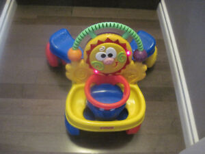Fisher Price Walker/Car/Music Toy