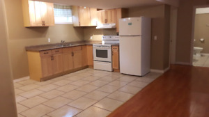 2 BEDROOM BASEMENT APARTMENT  can also be for 2 College student