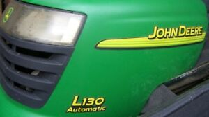 John Deere L130 Parts Riding Lawn Mower Garden Tractor