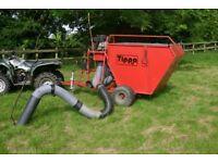 Terra Vac Tippa 14 Paddock Cleaner / Poo Vac