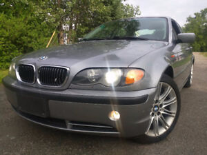 2004 BMW 330XI ALL-WHEEL-DRIVE **LOW KM**NO RUST