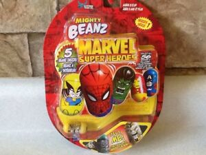 MIGHTY BEANZ MARVEL SUPER HEROES 2003