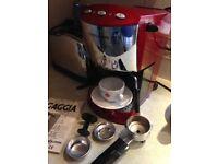 Gaggia Evolution Red Coffee Machine