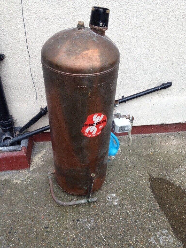 Copper hot water tank immersion tank | in Enfield, London | Gumtree