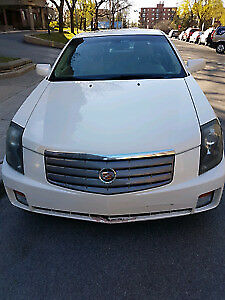 2006 Cadillac CTS Blanc perle Berline