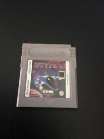 Nintendo Gameboy game R-Type ll