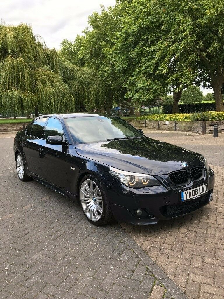 bmw 525d m sport face lift model 1 previous owner e60 lci in newham london gumtree. Black Bedroom Furniture Sets. Home Design Ideas