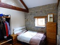 Double bedroom in lovely 5 bed converted barn