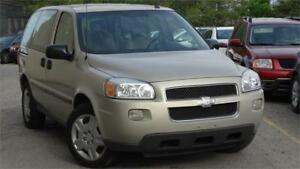 2008 Chevrolet Uplander LS with safety