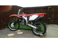 Crf 450 swap for 2 stroke bike or road legal quad (cr kx ktm yz)