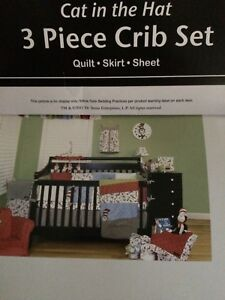 Cat in the Hat Bedding and Valence