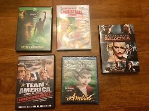 Assorted DVDS and one Blue-Ray