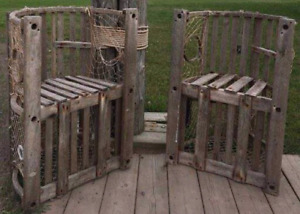 Lobster trap chairs
