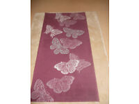 PURPLE BUTTERFLY RUG