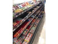 Chocolates display and racking