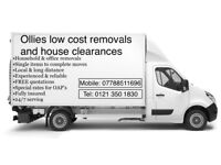 Ollies low cost removals and house clearances