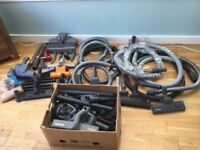 LARGE AMOUNT OF DYSON, VAX AND HOOVER SPARES