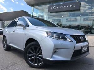 2015 Lexus RX 350 F-Sport AWD Navi Backup Cam Leather Sunroof