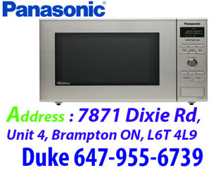 * Panasonic 0.8 Cu. Ft. Microwave (NNSD382S) - Stainless Steel