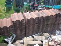 Bold roll roof tiles