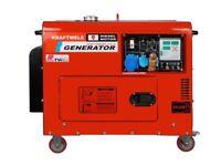 Generator Kraftwele SDG ATS 9800S 1 PHASE SILENT 9,8Kva KW DIESEL 32Amp