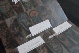 £150 Rock N Roll Tattoo Voucher